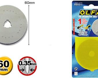 Olfa 60mm Rotary Blade (RB60-1)