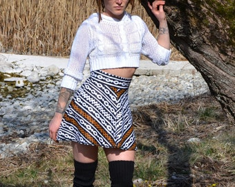 Mini skirt Midi African Tribal Mali