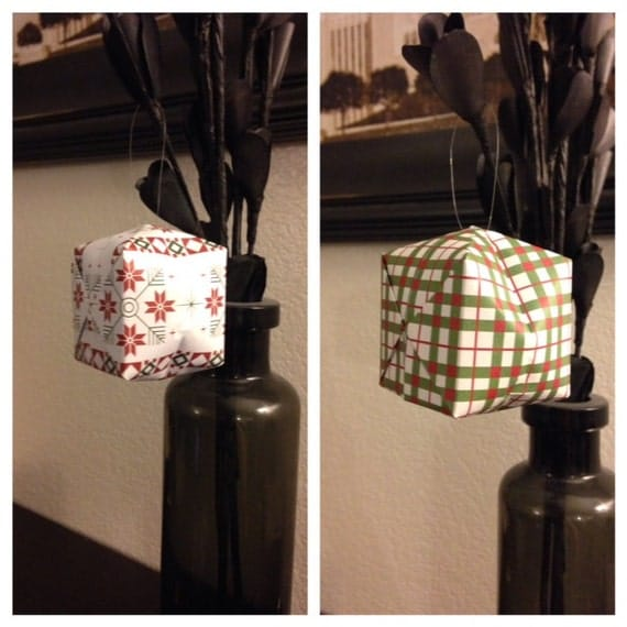 Origami Box Water Bomb Assorted Hanging Ornamnets by ... - photo#34