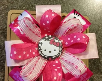 Hello Kitty Hair Bow or Headband #2