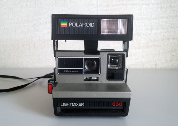 polaroid supercolor 630 lightmixer in working condition. Black Bedroom Furniture Sets. Home Design Ideas