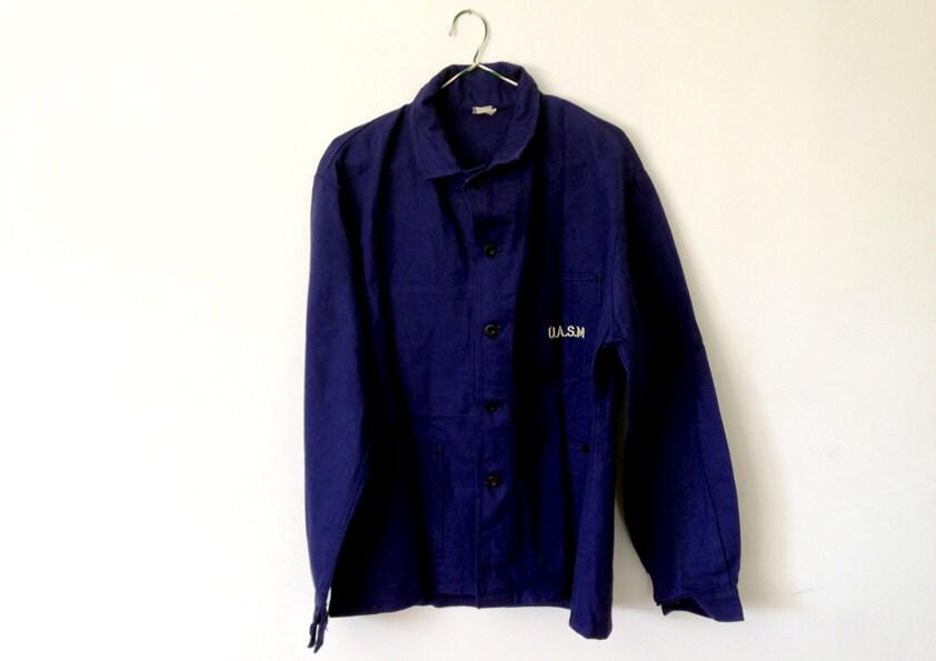 Veste bleu de travail bleu indigo v tement de travail - Bleu de travail castorama ...