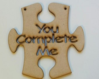 You complete me jigsaw piece