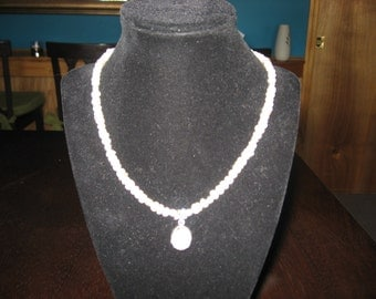 "Beautiful fresh water pearl 17 1/2"" necklace"
