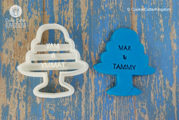 3 tier wedding cake cookie cutter custom wedding tiered cake cookie cutter personalized for you 10278