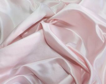 baby pink polyester taffeta fabric bridal wedding christening high fashion couture ball gown red carpet  formal bustle dress