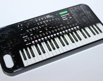 Custom Printed Korg MS2000 Vintage synthesizer keyboard synth Apple iphone  4 4s 5 5s 5c 6 6 plus case cover