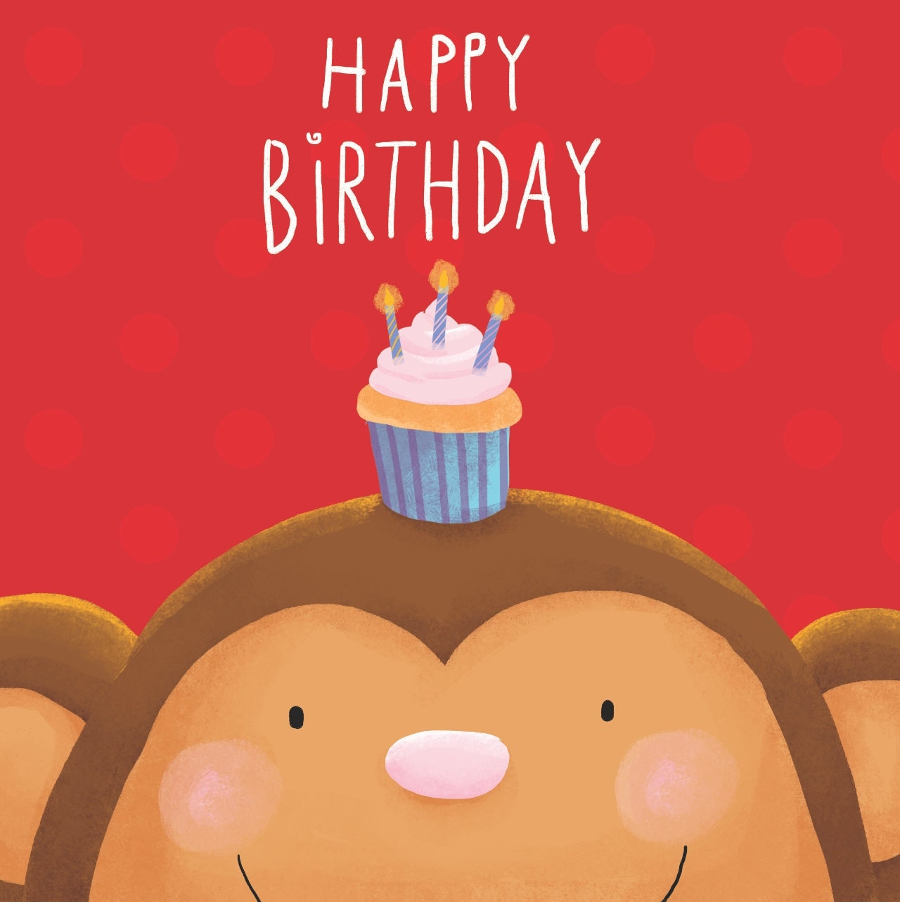 Monkey Birthday Cards Gangcraft