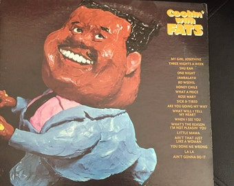 Fats Domino - Cookin with Fats LP