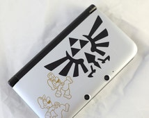 Zelda Princess Twilight Triforce Decal for DS XL sticker