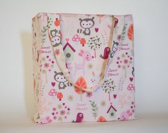 Forest Friends Baby Tote Bag