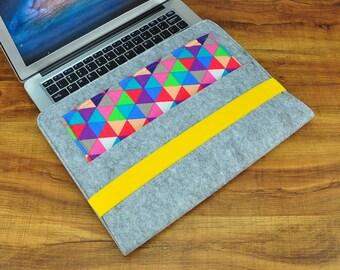 Felt Macbook 12 case, Macbook 12 inch sleeve, Macbook 12 inch, laptop case 12, macbook book 12, laptop sleeve 12, Mabook 12-CF139