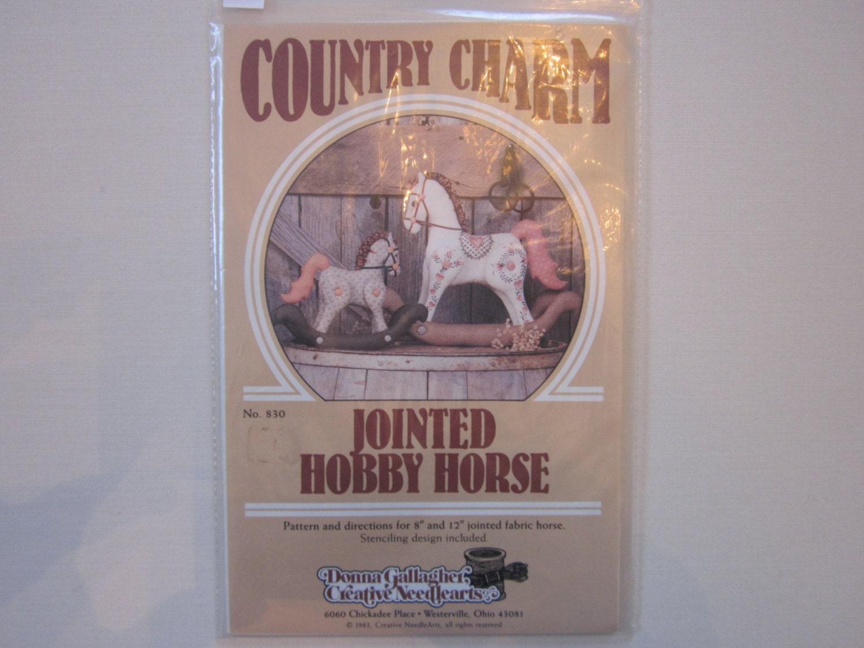 Vintage Patterns Hobby Horse - Sold by thimbleberi