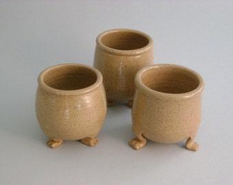 Small Stoneware Salt Cellar