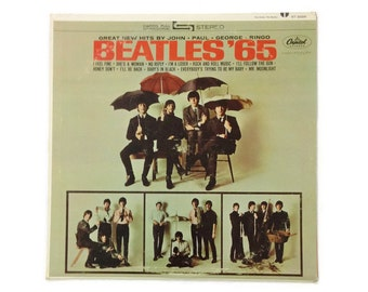 "The Beatles - ""Beatles '65"", ST-2228, stereo, first pressing, vintage vinyl LP, vg+/vg+"
