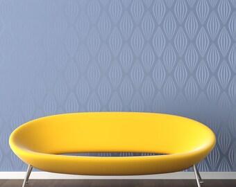 RETRO BALLOONS All over Wallpaper Stencil / Reusable Stencil / DIY / Home Decor / Interiors / Feature Wall / Wallpaper alternative