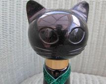 Avon cat perfume bottle, vintage perfume 1960's