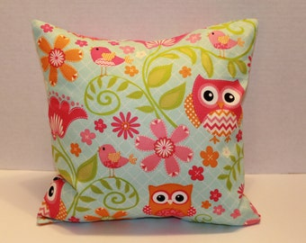 Decorative Owl Pillow Cover