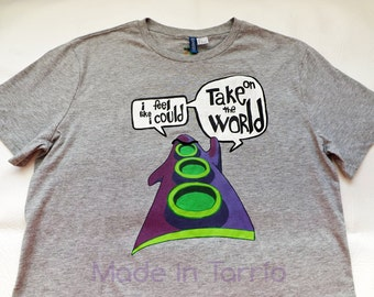 Day of the Tentacle t-shirt, hand painted