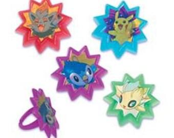 Pokemon Rings