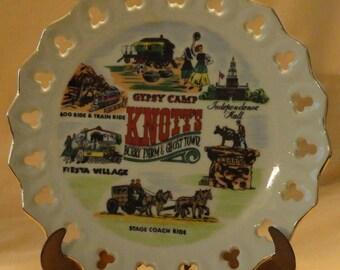 Knotts Berry Farm plate