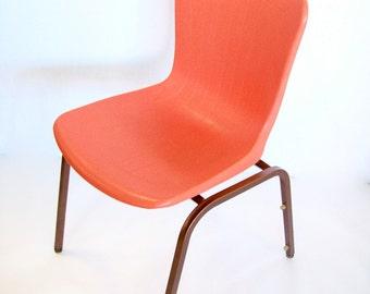 Mid Century Viko Baumritter Chair in Orange