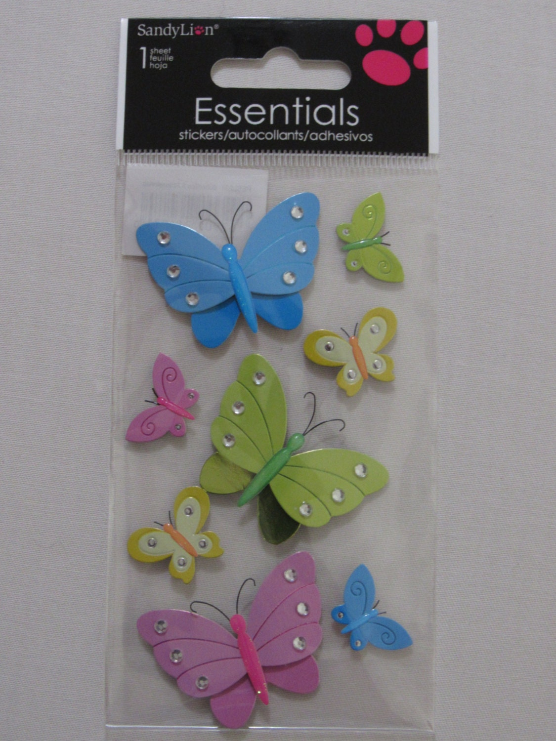 Butterfly Scrapbooking Stickers by MyStickerCollections on ...