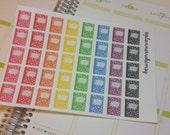 Composition Book Stickers - Perfect for Erin Condren, Plum Paper & Filofax Planners