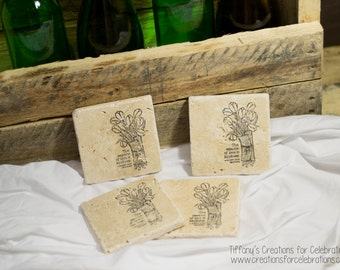 The Essence of Love is Kindness Coasters