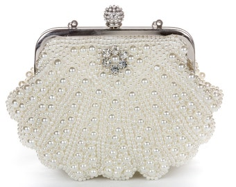 Pearl Clutch Bag, Evening Clutch, Bridal Clutch Bag, Custom Wedding Accessories  Ask a Question c25