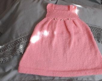 6 months jumper for little girl who loves pink