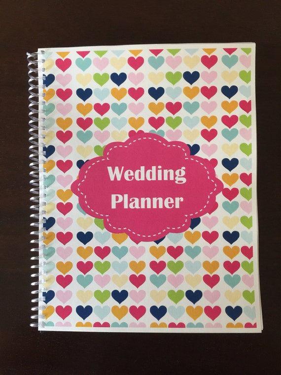 wedding planner organizer wedding planner amp organizer notebook multicolor shapes 30042