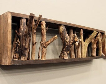 Large Tree branch coat rack,wall coat rack,rustic coat rack,branch coat