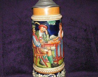 Vintage, Musical Stein, Thorens Movement, Made in Switzerland. 'Tales of Vienna Woods' Collectable.