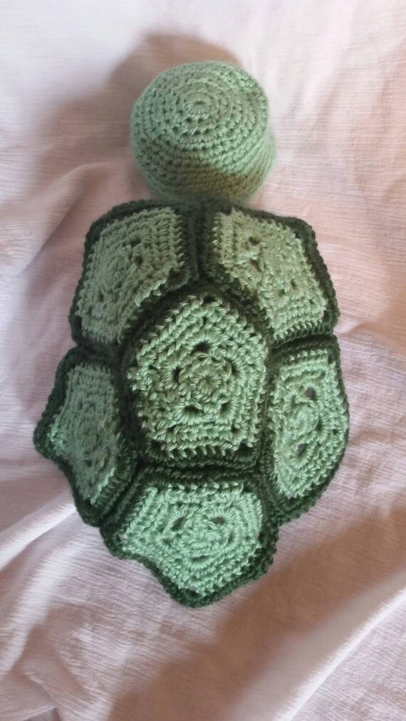 Free Crochet Pattern For Turtle Photo Prop : Newborn Crochet Turtle Photo Prop Set by SweetScarlettsShop