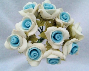 CLEARANCE- 3/4 inch Clay Flowers
