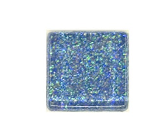 Sky Rainbow Glitter Crystal Glass MosaicTiles
