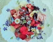 Flower Sprinkles™, Dried Flowers, Home Decor, Craft Supply, Biodegradable Petals, Wildflowers, Flower Confetti, Wedding Exit
