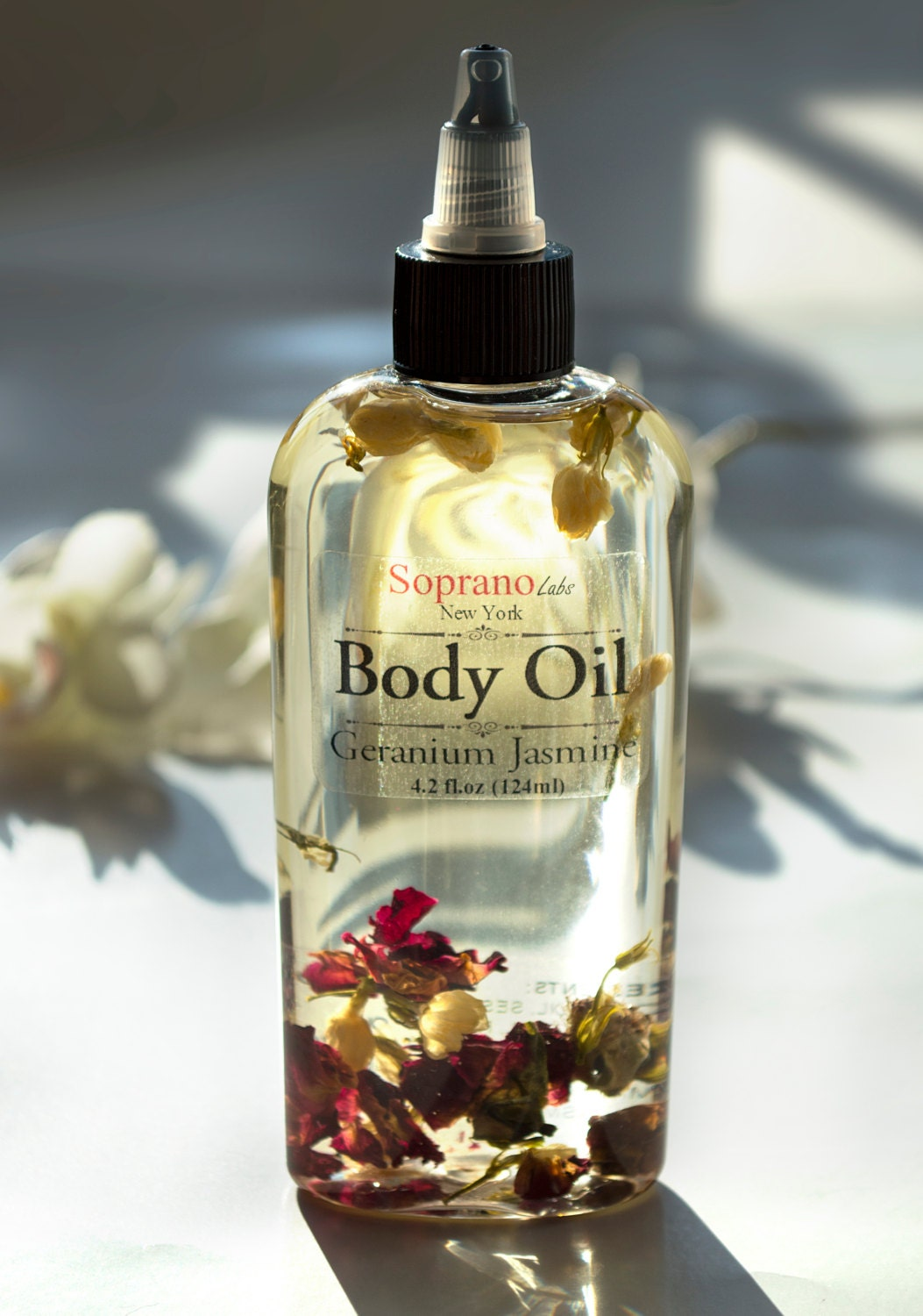 Aphrodisiac Body Oil. All Natural Spa Massage. Infused With