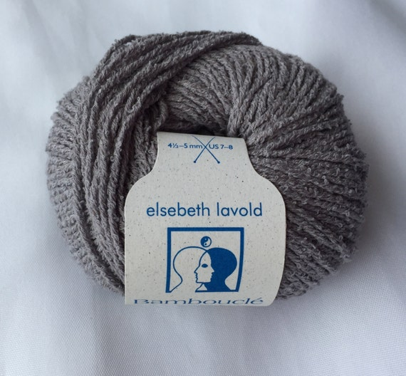 Cool Sculpting Machine Distributor >> BAMBOUCLE Soft Grey 006 Yarn by Elsebeth Lavold / Knitting Fever Inc./Cotton Bamboo Linen Nylon ...
