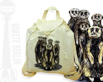 Festival bagpack 'Meerkat'
