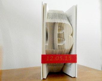 Personalized Groomsmen gift - Groomsmen gift - Groom gift from bride - Mother of groom - Groomsmen - Groomsman gift - Folded Book Art