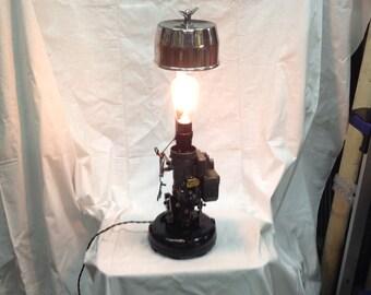Vintage Industrial /Steampunk Zenith Carburetor Lamp for Home,Garage or Mancave