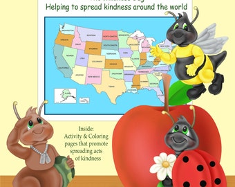 Kindness Bug Coloring and Activity Book