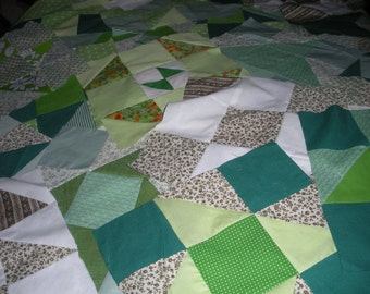 Pre-sewn  28 quilt blocks