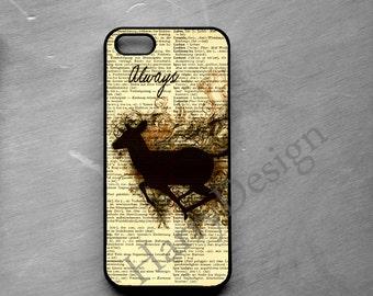 Harry Potter Deer Phone case for iPhone 6/6S/6 Plus/6S Plus, iPhone 7/7Plus, Samsung Galaxy S8/S8 Plus/S7/S7 Edge/S6/S6 Edge/S6 Edge Plus