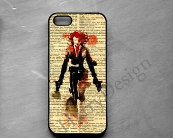 The Avengers Black Widow Natasha Romanoff iPhone 4 /4s / 5 / 5s /5c /6 case, Samsung Galaxy S3 / S4 / S5 /S6 case, Samsung Note 2, 3, 4 case