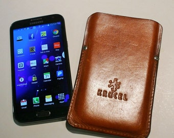 LG G4 Leather Phone Cover Sleeve