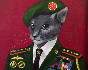 Custom Pet Portraits — Original Paintings of Your Pet In Ornate Clothing of Your Choice