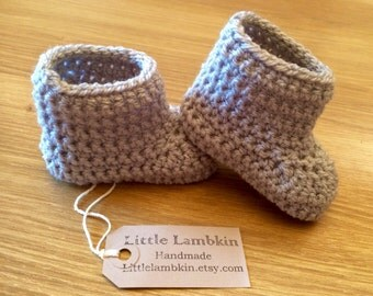 crochet baby boots baby uggs baby shower gift